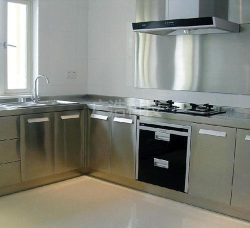 不銹鋼廚房櫥櫃
